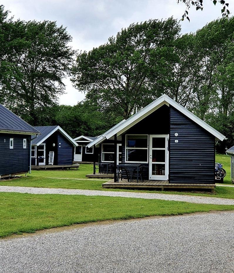 Lej en hytte på campingpladsen nær Århus - CampOne Ajstrup Strand